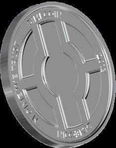 Dimecoin Silver Coin